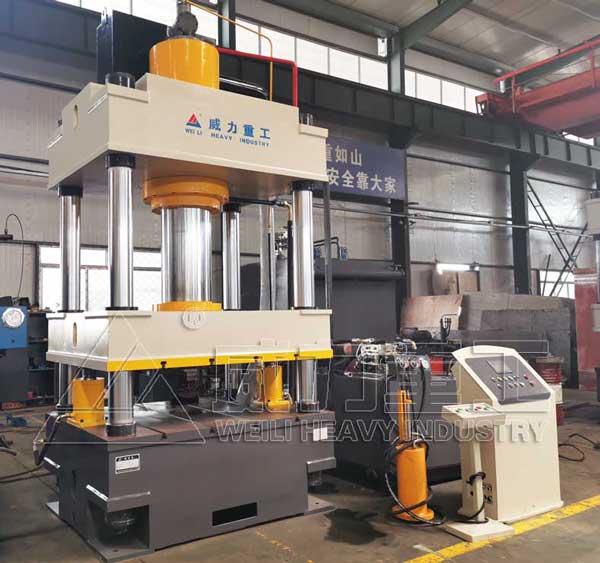 500吨四柱液压机YW32-500T伺服油压机