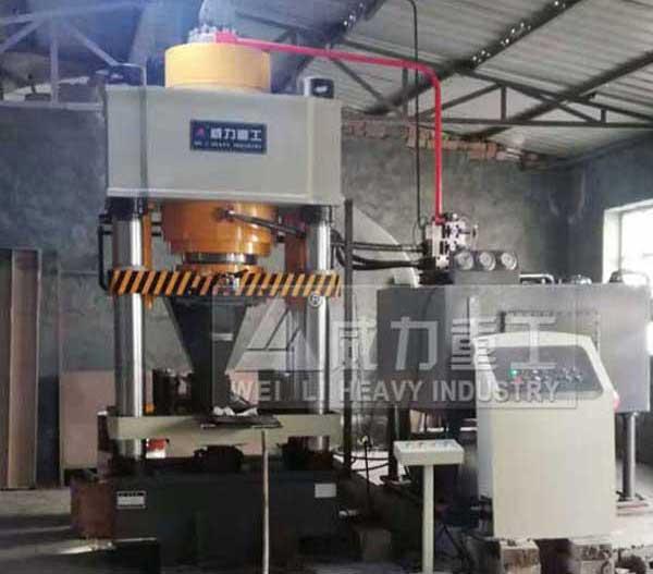 800吨四柱液压机(粉末成型机)
