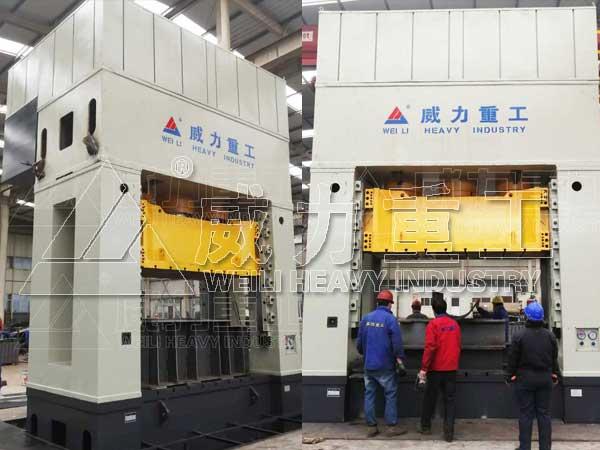 2000吨框架式伺服液压机_2000T复合材料模压液压机