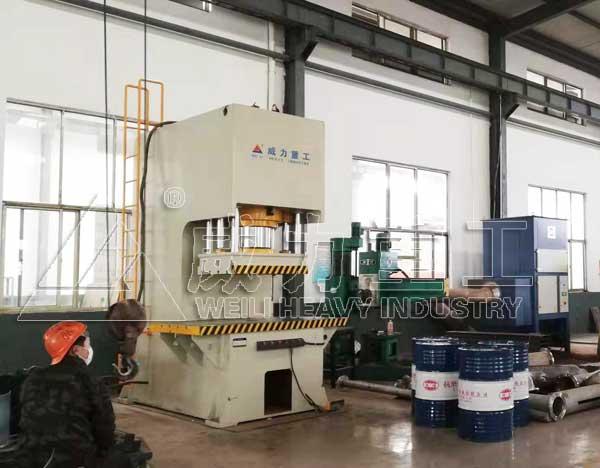400吨数控C型单柱液压机_400TC型油压机