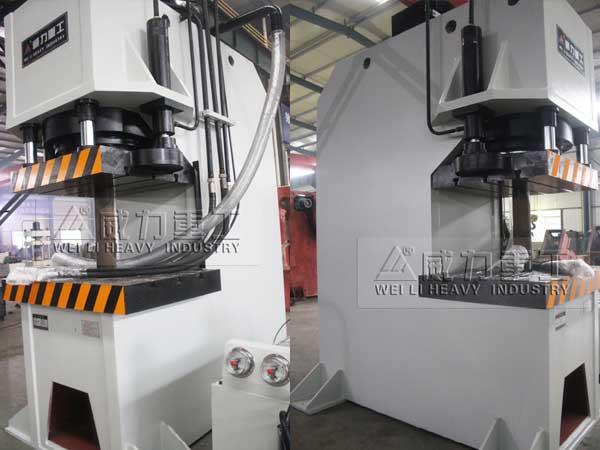 500吨单臂压力机_500T校正整形C型液压机
