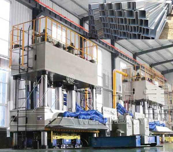 2000吨玻璃钢电缆桥架电缆槽模压成型液压机