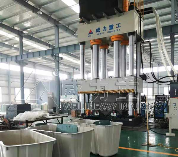 YW32-2000吨四柱液压机|玻璃钢化粪池模压机