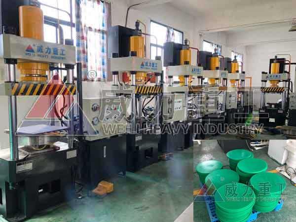 100吨PE塑料菜板砧板成型液压机100T热压成型机