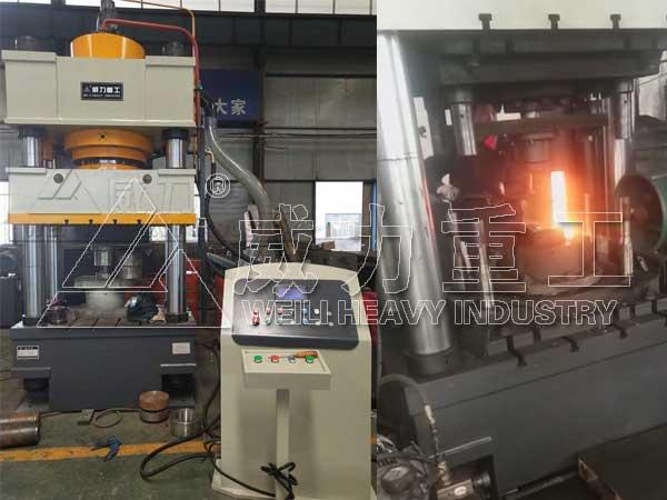 800T热锻压成型液压机-800吨矿用凿岩钎具