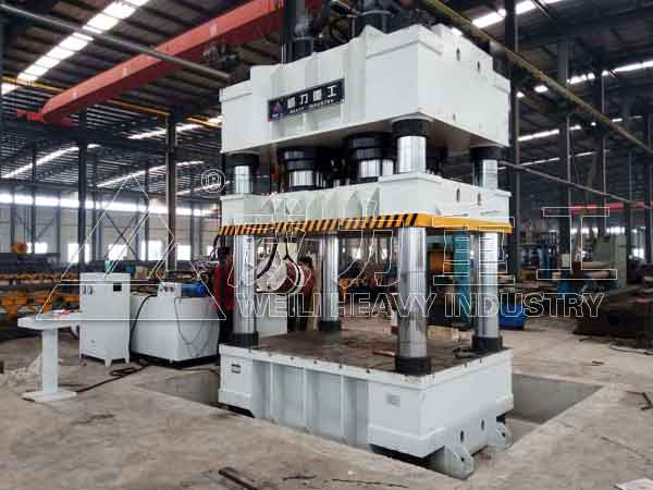 伺服2000吨液压机YW32-2000T四柱压力机
